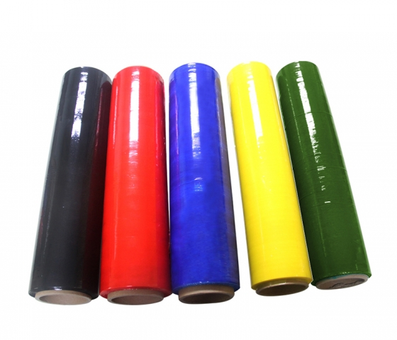 pe彩色拉伸膜居然是一种环保包装材料!